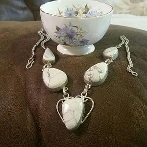 Jewelry - White Jasper Necklace